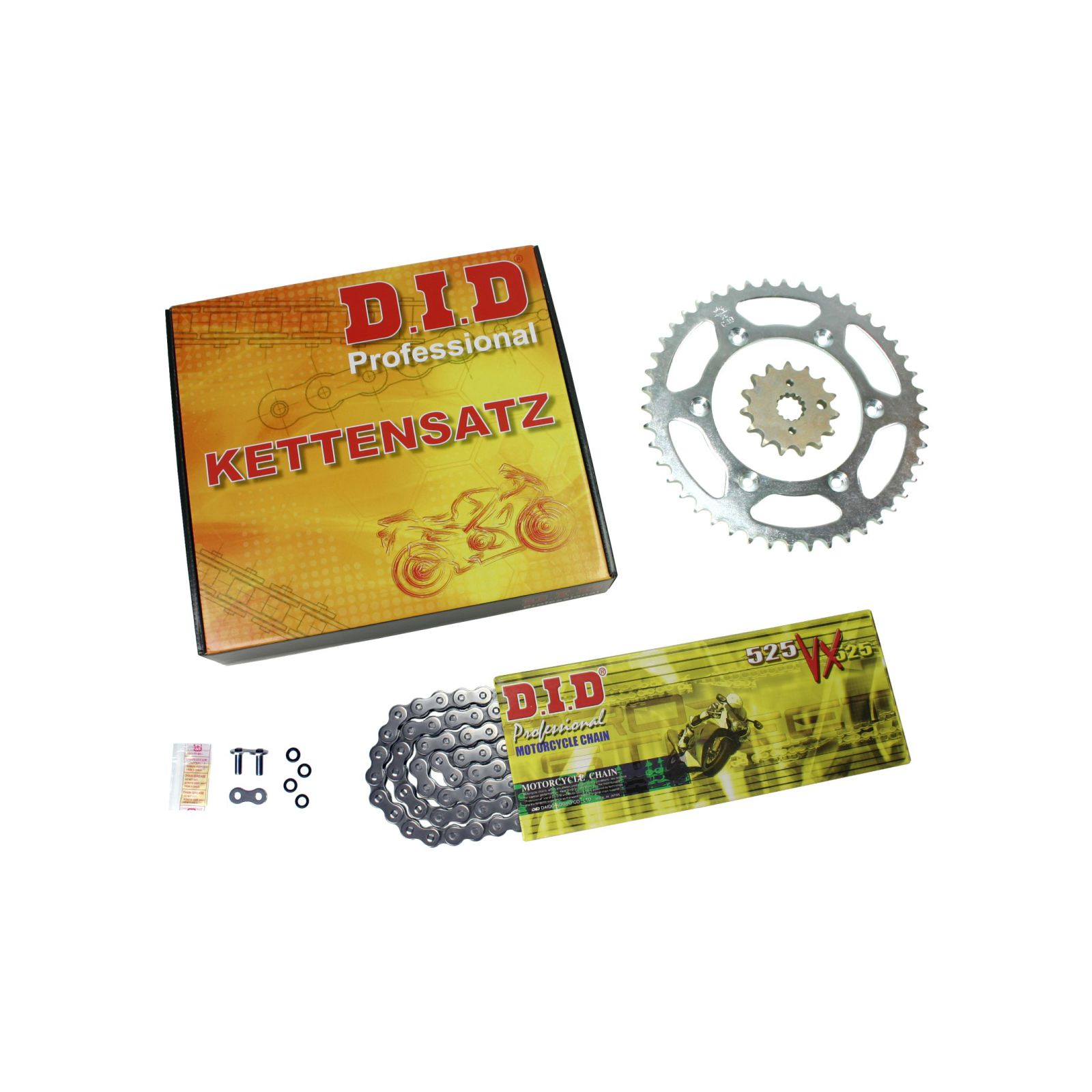 DID-VX-Kettensatz-Honda-CB-450-S-20-kW-Bj-86-89-PC17